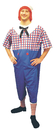 Morris Costumes 12-121 Raggedy Andy Plus Size