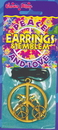 Morris Costumes 40-902 Peace Necklace Earring Set