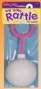 Morris Costumes 80-501 Baby Rattle Pink