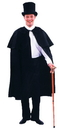 Alexanders Costumes Aa-100Ch Dickens Cape Child/Teen Black