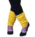 Alexanders Costumes AA-105 Leg Warmers Adult Neon Yellow