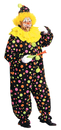Alexanders Costumes 123 Clown Costume Neon Dotted 1 Sz