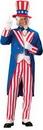 Alexanders Costumes 144LG Uncle Sam Adult Large