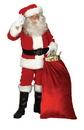 Morris Costumes AE-04 Santa Suit Dlx 9191