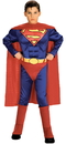 Morris Costumes AF-142LG Superman Child W Chest Lg