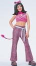 Morris Costumes AF-186MD Josie Pink Child Medium