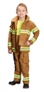 Morris Costumes AR-39LG Fire Fighter Child Tan Lg 8-10