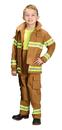 Aeromax Costumes AR-39SM Fire Fighter Child Tan Sm 4-6