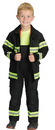 Aeromax Costumes AR-40MD Fire Fighter Chld Black Md 6-8