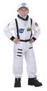Aeromax Costumes AR-53MD Astronaut Suit White Lg 8-10