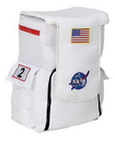 Aeromax Costumes AR-54 Astronaut Back Pack White