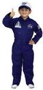 Aeromax Costumes 59MD Flight Suit W Cap Size 8-10