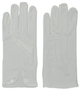 Morris Costumes BA-02LG Gloves Cotton W Snap White
