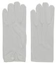 Morris Costumes BA-03MD Gloves Men Nylon W Snap White