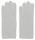 Morris Costumes BA-03XL Gloves Men Nylon W Snap White*