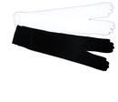 Morris Costumes BA-06BK Gloves Shld Lgh Black 1 Size