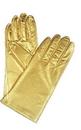 Morris Costumes BA-07GD Gloves Reg Metallic Gold