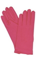 Morris Costumes BA-20 Gloves Nylon W Snap Hot Pink