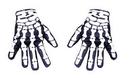 Morris Costumes BA-26 Glove Skeleton Hand Not Glow