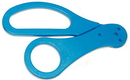 Morris Costumes BB-129BU Scissor Handle Blue