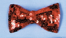 Morris Costumes BB-133RD Bow Tie Sequin Red