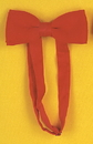 Morris Costumes BB-170RD Bow Tie Satin Band Red