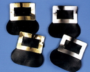 Morris Costumes BB-221GD Shoe Buckles Colonial Gold