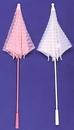 Morris Costumes BB-28PK Parasol Lace Pink