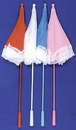 Morris Costumes BB-31PK Parasol Nylon Ruffle Pink