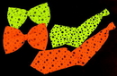 Morris Costumes BB-332GR Tie Neon Long Lime Green