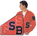 Morris Costumes BB-352RD Patch 4In Numbers Pair Assortd
