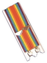 Morris Costumes BB-36 Suspenders Rainbow