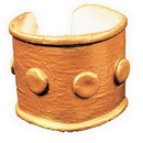 Morris Costumes BB-383 Slave Armband Gold Only