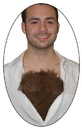 Morris Costumes BB-470 Hairy Chest