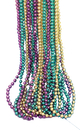Morris Costumes BB-493 Beads 33In 6Mm 144 Eq 1
