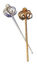 Morris Costumes BB-67GD Scepter Sequin Gold