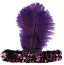 Morris Costumes BC-22PR 20S Headband Purple