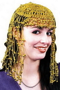 Morris Costumes BC-47GD Headpiece Egyptian Gold Gold