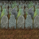 Morris Costumes BG-00900 Graveyard Backdrop