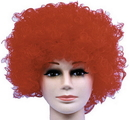 Morris Costumes CA-118RD Wig Curly Clown Red Budget