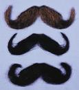Morris Costumes CB-36DB Mustache 20S Dk Brown Human