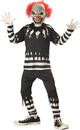 California Costumes CC-00299LG Creepy Clown Child Large 10-12
