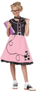 California Costumes CC-00400MD 50S Sweetheart Child Med 8-10