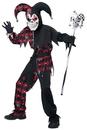 California Costumes CC-00466LG Sinister Jester Child Lg