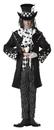 California Costumes CC-01101LG Dark Mad Hatter Men Lg 42-44