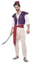 California Costumes CC-01409LXL Arabian Folk Hero Adult Lg/Xl