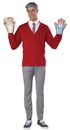 California Costumes CC-60769 Be My Neighbor Kit Adult