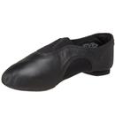 Morris Costumes CP-01BLK5M Jazz Shoe V Low Ad Bk 5M