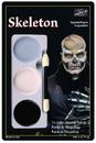 Morris Costumes DD-451 Tri Color Palette Skeleton