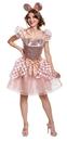 Morris Costumes DG-103099B Rose Gold Minnie Dlx Adult 8-1